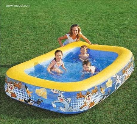 Diferentes tipos de piscinas residenciales paperblog for Piscina inflable ninos