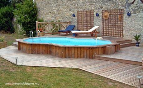 Diferentes tipos de piscinas residenciales paperblog for Piscinas sobre suelo