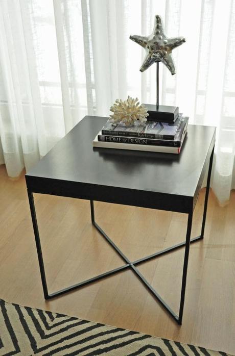Diy ikea hack mesa auxiliar lack paperblog - Ikea mesa lack blanca ...