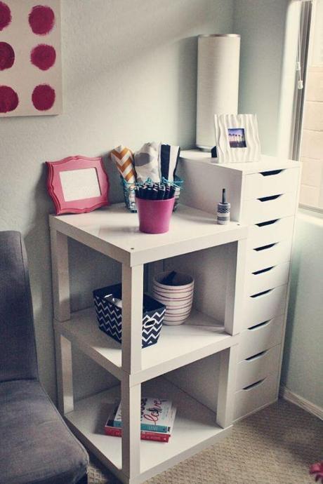 Diy ikea hack mesa auxiliar lack paperblog - Ikea mesas auxiliares ...