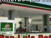 Lista gasolineras roban Luis Potosí