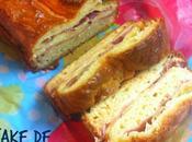 Cake Jamón Serrano Queso Gouda