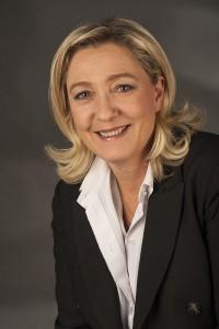 Marine Le Pen, la líder del partido ultraderechista francés Frente Nacional. Fuente: Wikipedia.