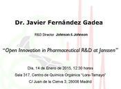 Conferencia IQOG-CSIC: investigación industria farmacéutica