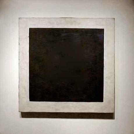 'Black Square', Kazimir Malevich.