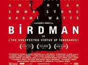 """BIRDMAN INESPERADA VIRTUD IGNORANCIA)"": Crítica cine pocas palabras"