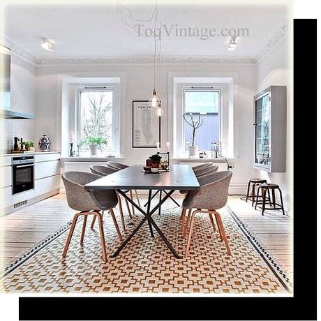 Las alfombras paperblog - Alfombras para comedor ...