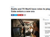 Washington Post: Radio/TV Martí afrenta dignidad Cuba