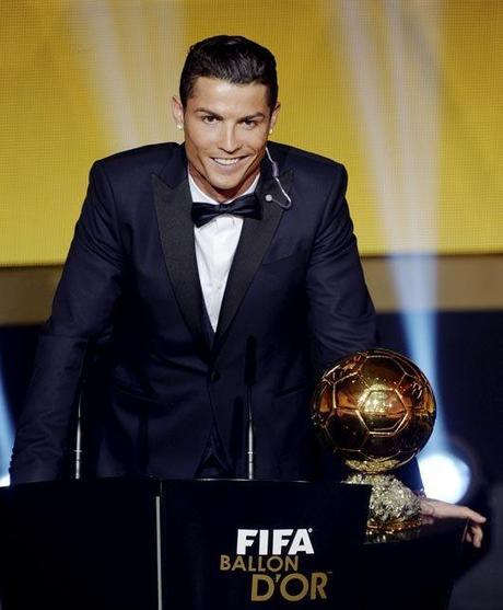 Cristiano Ronaldo Balón de Oro 2015