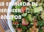 ensalada favorita Jennifer Aniston