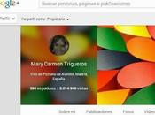 Estadísticas Google plus