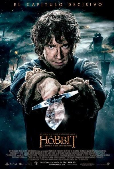 Póster: El Hobbit: La batalla de los cinco ejércitos (2014)