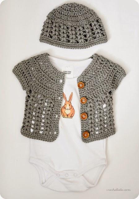 Crochet Short Sleeve Sweater Pattern 100