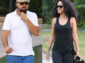 Leonardo DiCaprio Rihanna, cariñosos mansión Playboy