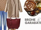 Looks abrigo broches garabatea
