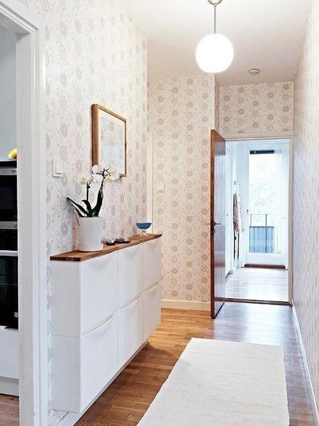 C mo decorar y amueblar el hall de entrada paperblog - Mueble pasillo estrecho ...