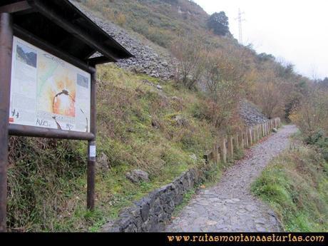 Ruta Xanas, Valdolayés, Peña Rey: Entrada en el desfiladero de las Xanas