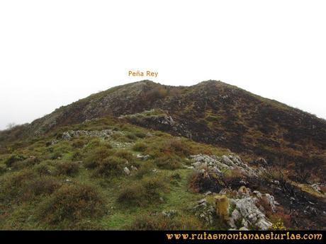 Ruta Xanas, Valdolayés, Peña Rey: Llegando a la cima de Peña Rey
