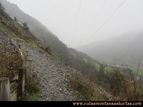 Ruta Xanas, Valdolayés, Peña Rey: Pedrera