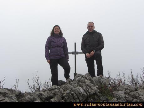 Ruta Xanas, Valdolayés, Peña Rey: Cima de Peña Rey