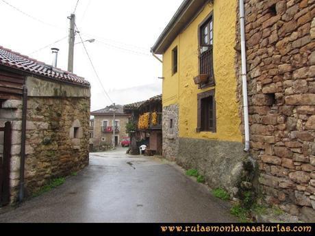 Ruta Xanas, Valdolayés, Peña Rey: Entrando en Pedroveya