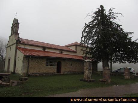 Ruta Xanas, Valdolayés, Peña Rey: Iglesia de San Antonio de Padua
