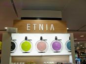 Presentación Etnia cosmetics Corte Inglés