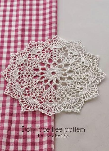 Free Printable Crochet Lace Patterns : Carpetas a crochet - Paperblog