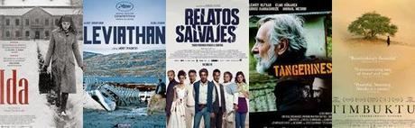 Nominados a los premios Óscar 2015