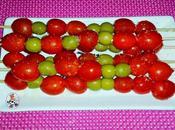 Pinchitos cherrys aceitunas