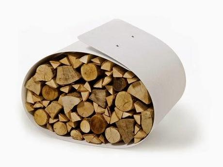 Ideas para almacenar la madera: leñeros.   paperblog