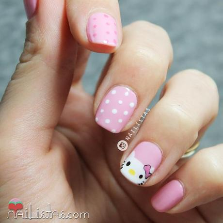 Unas Decoradas Con Hello Kitty Paso A Paso Paperblog