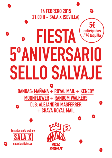 Fiesta Aniversario Sello Salvaje