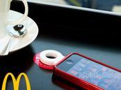 McDonald's Londrés pondrán disposición consumidor cargadores inalámbricos para smartphones.