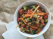 Ensalada oriental quinoa