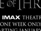 lanza pósters para proyección serie cines IMAX