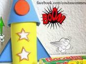 Dulceros cohete para niños rollos papel