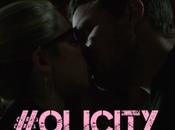 beso entre Oliver Felicity vimos 'Arrow'.