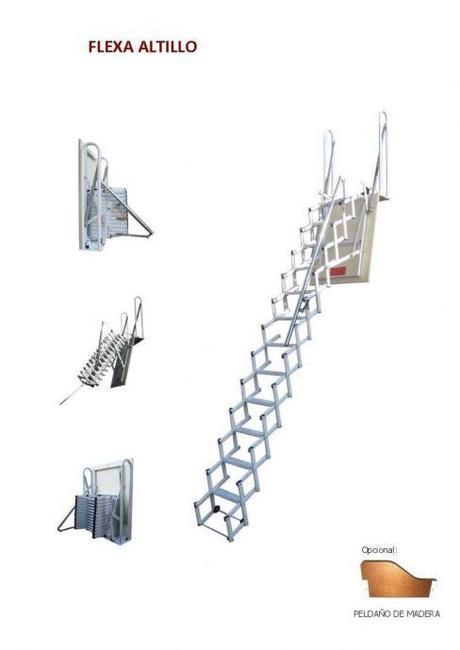 Escaleras plegables 5 modelos para altillos paperblog - Escalera plegable altillo ...