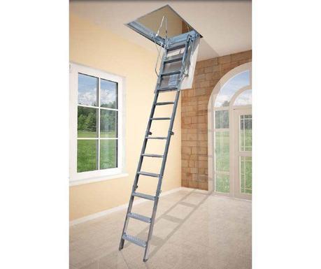 Escaleras plegables 5 modelos para altillos paperblog - Escaleras plegables techo ...