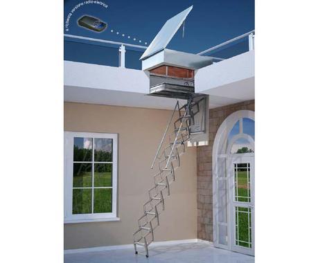 Escaleras plegables 5 modelos para altillos paperblog for Escaleras para buhardillas plegables