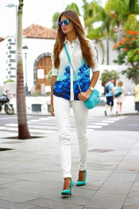 Como combinar tus pantalones blancos / How to combine your ...