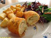 Rollitos pollo queso azul