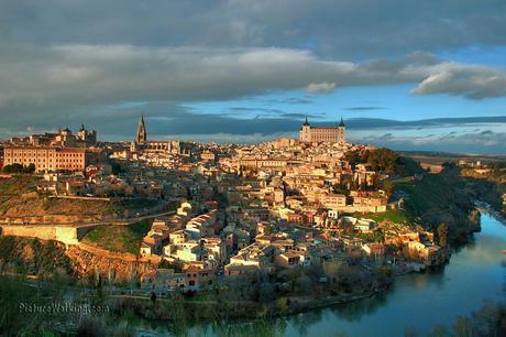 Camino de Santiago Ruta del Sureste : Etapa Almonacid de Toledo a Toledo  27 km