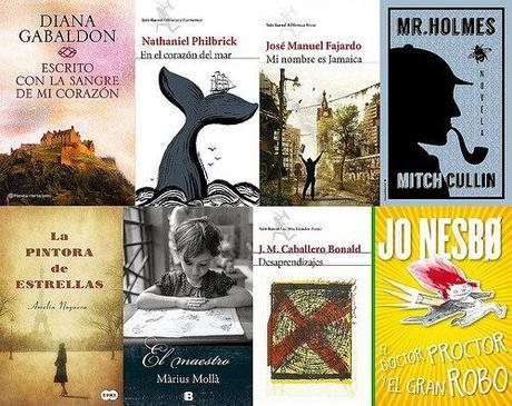 Los primeros libros de 2015.