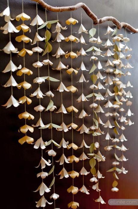 2272.- Decoración con origami