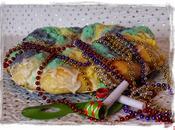 King cake... porque Mardi Gras dentro preparándose... para Desafío cocina