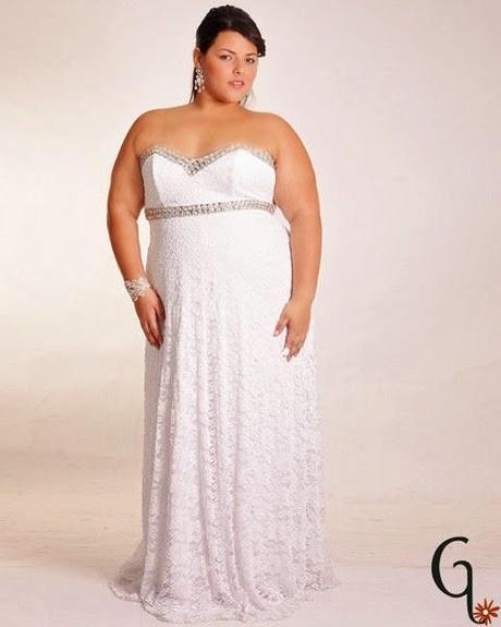 Imagenes vestidos de novia para gorditas 2015