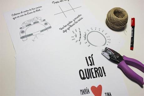 Libro de actividades descargarble para niños en boda gay - Paperblog