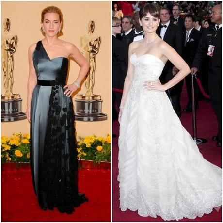 Vestidas para la historia de los Oscars